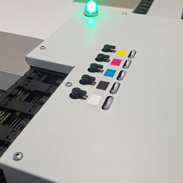 Die Druckplatte von unserem Arizona Drucker