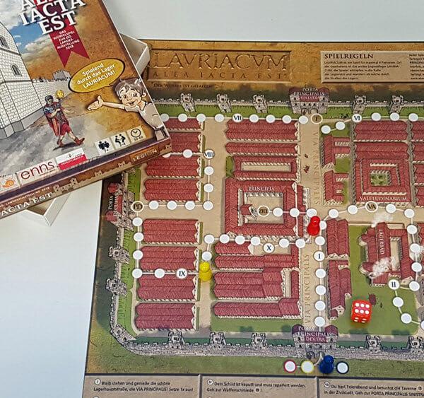 Bedrucktes-Spiel Römer in Enns