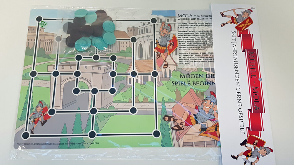 Brettspiel Landesausstellung MOLA (MÜHLE)