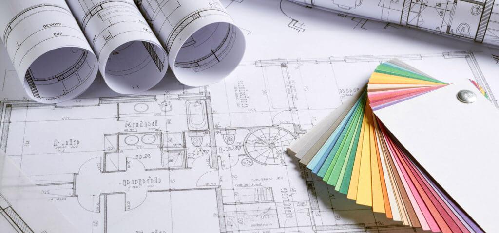 Farbauswahl für den CAD Pläne druck