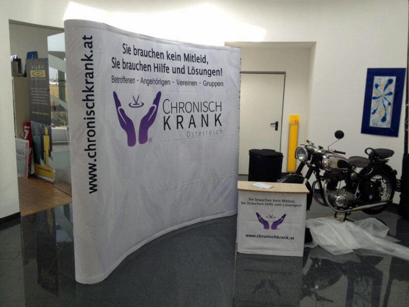 Chronischkrank Messebau 2018