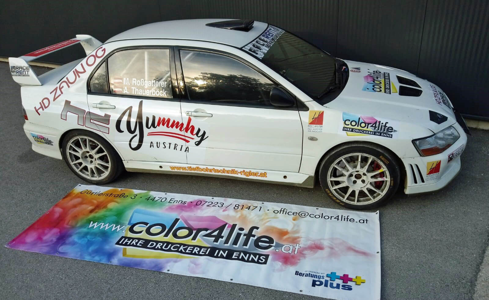 color4life Racing Team Austria 2018: M. Roßgattner & A. Thauerböck