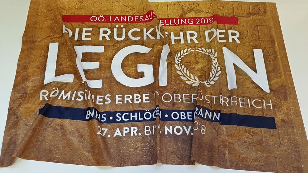 Die Rückkehr der Legion - Flaggenproduktion