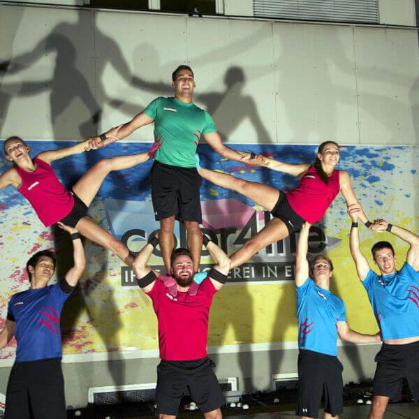 The Freaks das Showteam aus St. Valentin bei Ihrer Druck Vorführung