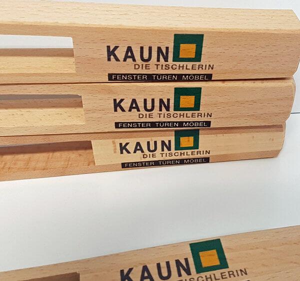 Holzdruck auf Zange für Kaun die Tischlerin - Fenster - Türen - Möbel 2018