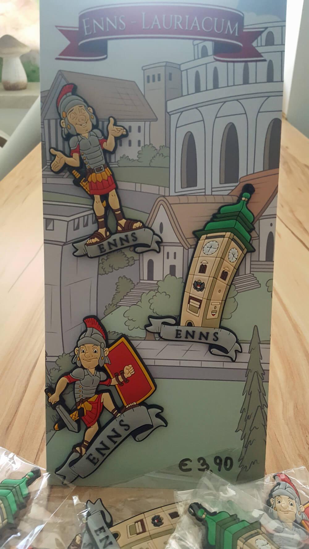 Magnete - Römer zur Landesausstellung um 3,90 Euro