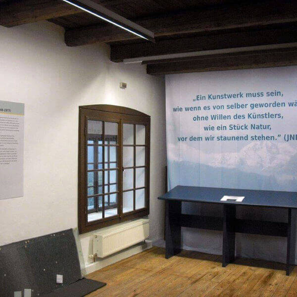 Ein Kunstwerk, ebefalls für ein Museum gefertigt und montiert