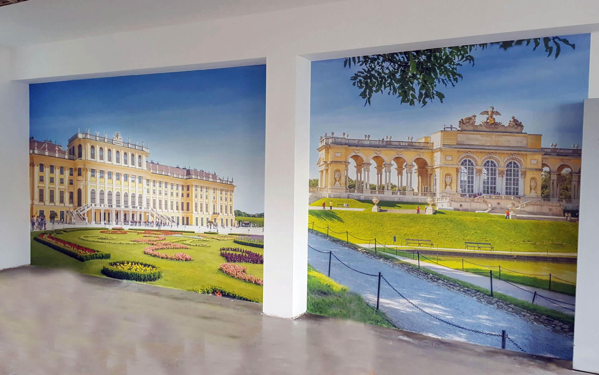 Wandposterdruck Gloriette Wien - Wandbilder