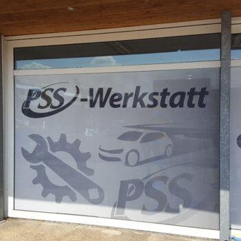 PSS Werkstatt Schaufensterfront 3 teilig