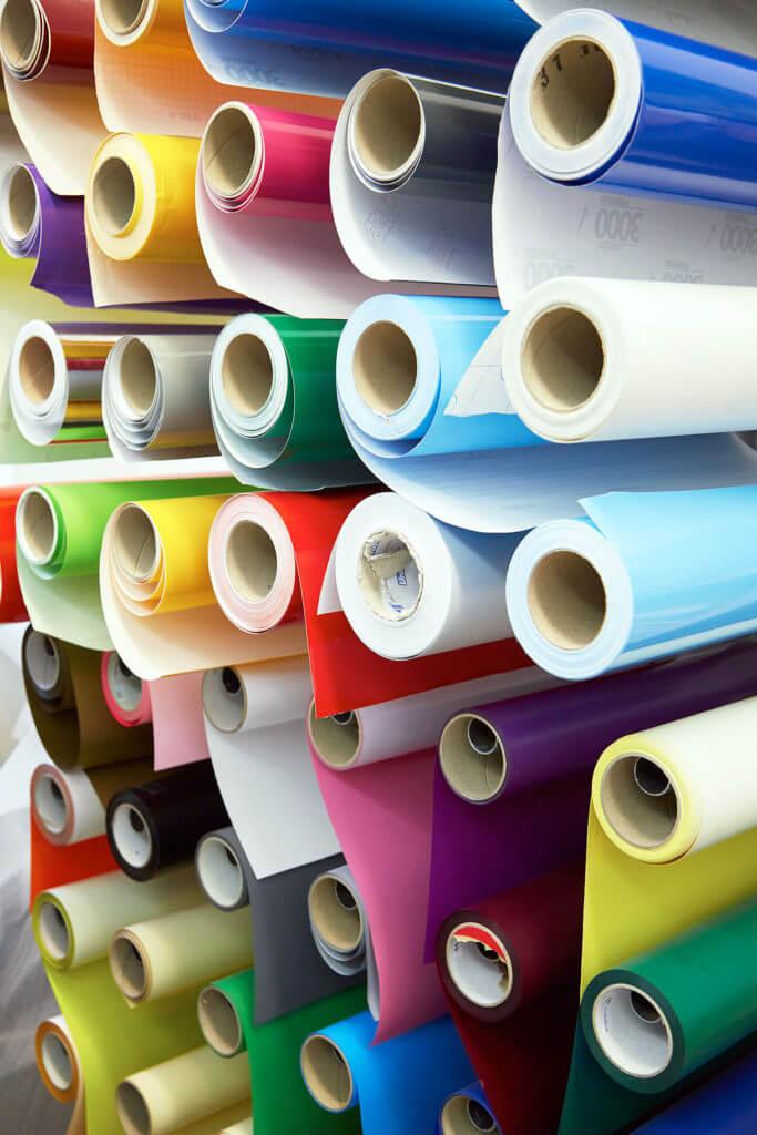 Das Rollenmagazin für alle Arten von Papier und Klebefolien