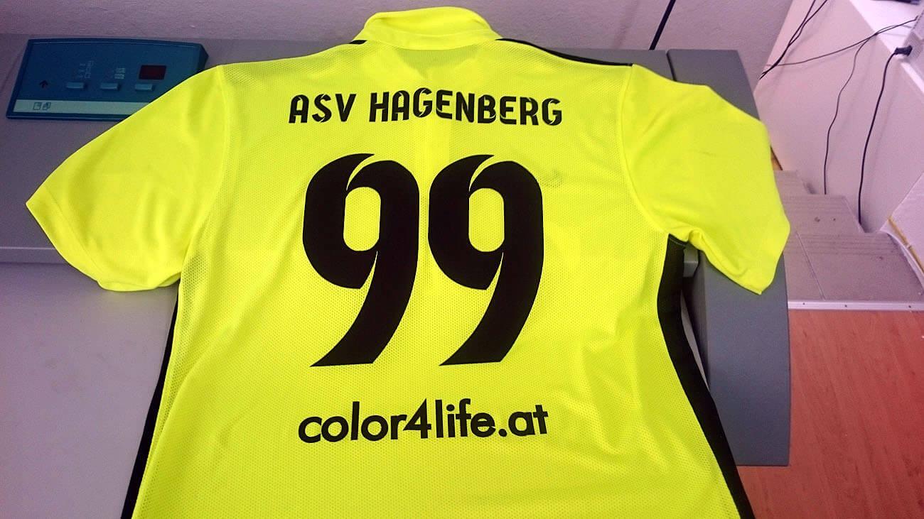 ASV Hagenberg Fussball Trikot